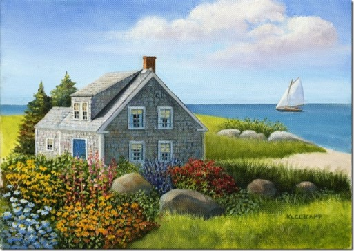 Garden by the Sea by Kleekamp Image