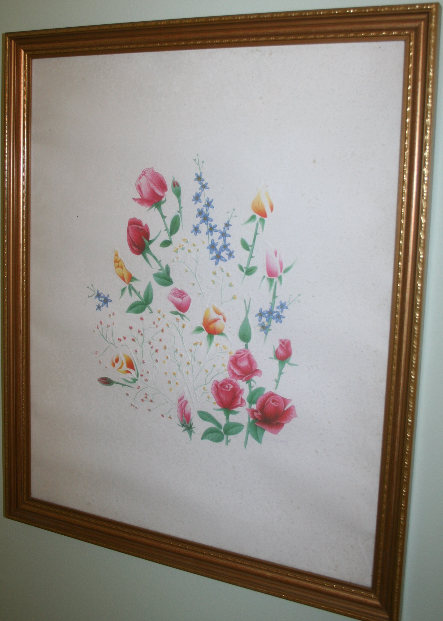 Floral Painting Image