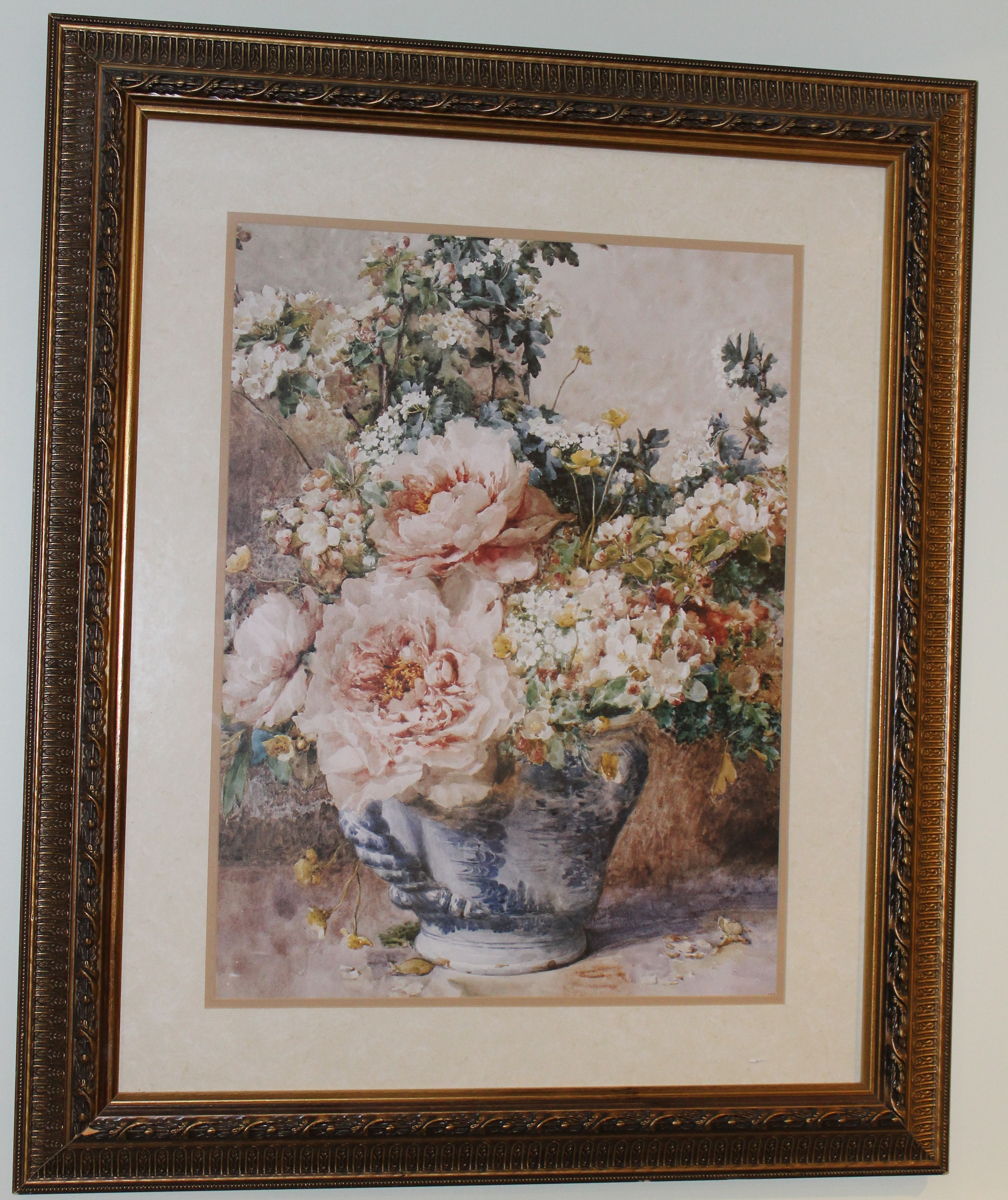 Blossoms with Peonies Image